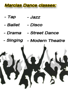 Marcia Jones School of Dance image tap jazz ballet disco drama street dance modern theatre